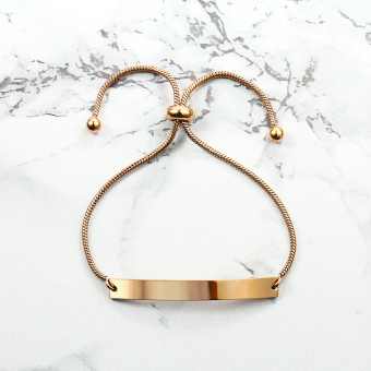 CELENY in Europe and America rose gold bracelet