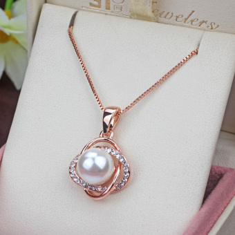 Charm is still elegant female choker pearl necklace