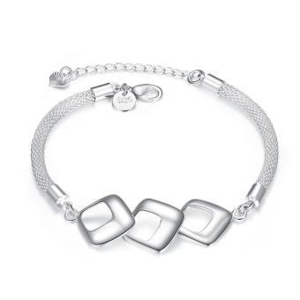Charming china supplier love forever silver bracelet (Intl)