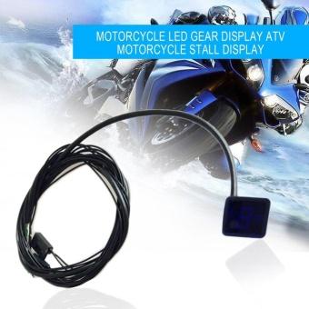 CHEER Motorcycle Digital Gear Indicator LED Display Monitor Shift Lever Sensor intl 4