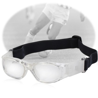 Children Basketball Football Sports Eyewear Goggles PC Lens Protective Eye Glasses - intl