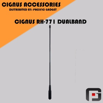 Cignus RH 771 UV SMA-Female Dual Band VHF/UHF Portable Antenna for Cignus Baofeng Pofung