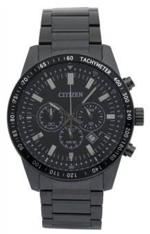 Citizen Men's Chronograph Black Stainless-Steel Quartz Watch AN8077-54E - intl