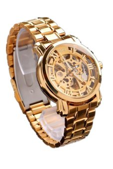 Classic Dial Mechanical Automatic Gold Mens Watch