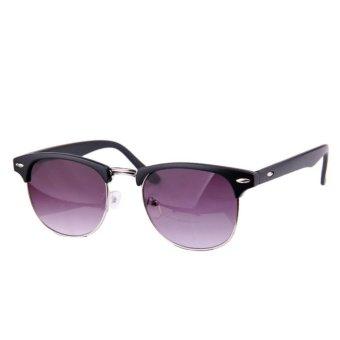Classic Vintage Sunglasses Dark Purple