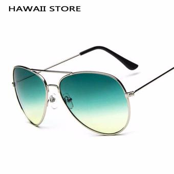 Classical Pilot Sunglass For Men Driving Gradient Sun GlassesFashion Shades Multicolor Lens - Intl Price Philippines