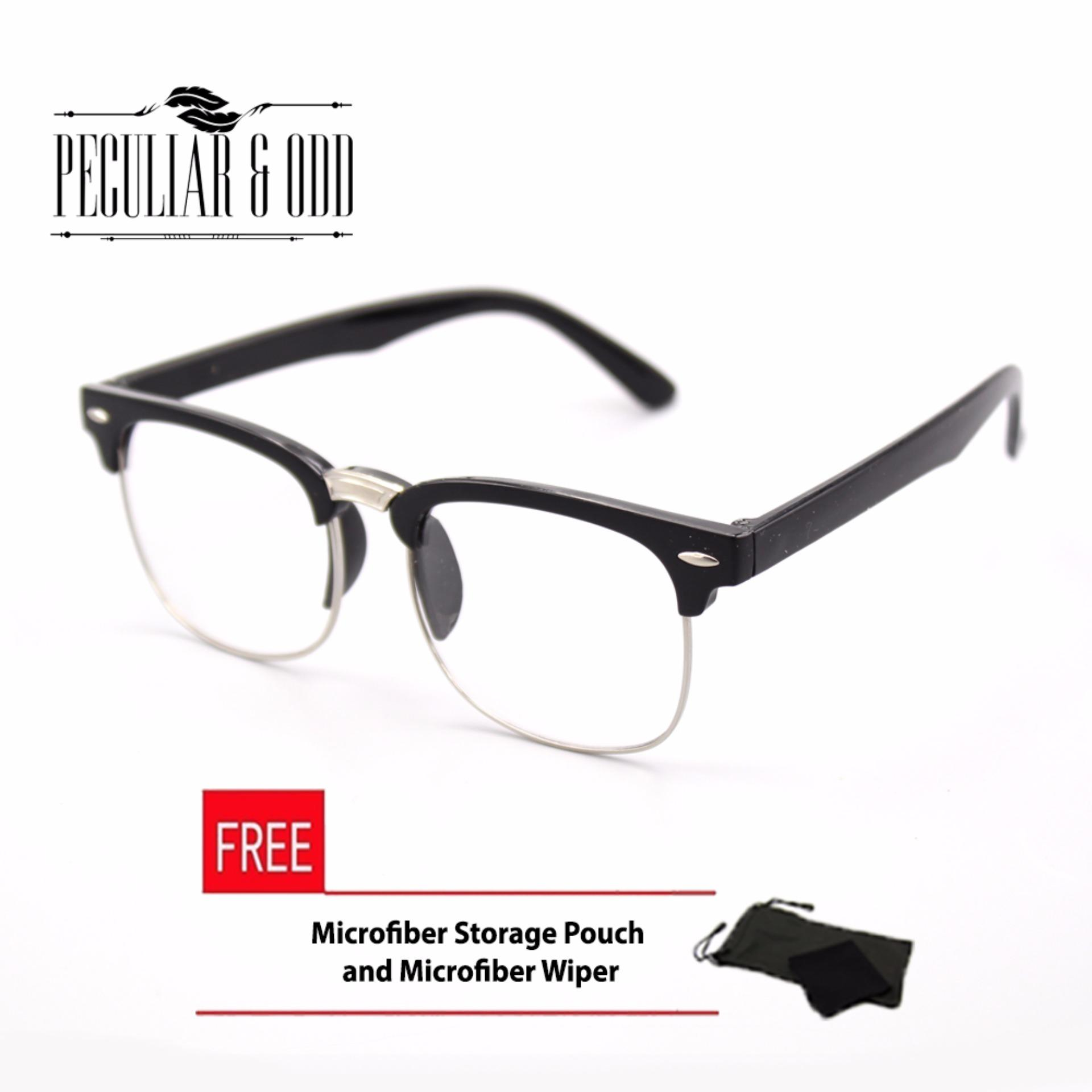 Philippines | Clubmaster Classic Sunglasses with Clear Flash Lenses ...
