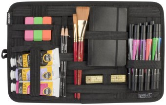 Cocoon Grid-It Organizer (Black) - Intl - 2