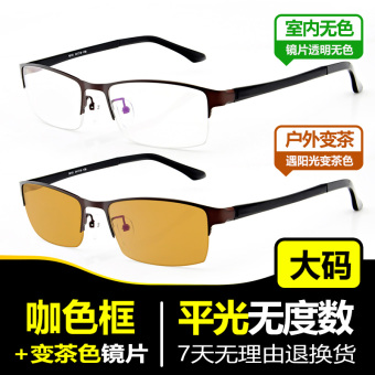 Color changing men's anti-UV radiation sun glasses color changing glasses