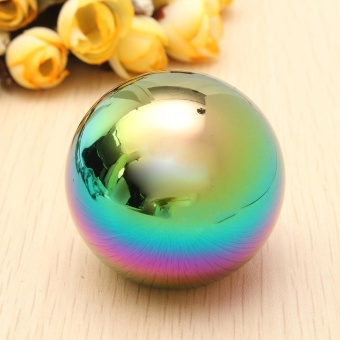 Colorful Car Ball Style Gaitor Boot Manual Stick Shifter Lever Gear Shift Knob - intl - 3