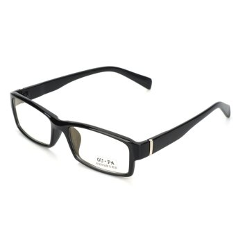 Computer Radiation-Proof Anti-Fatigue Pain Glass Spectacles - Black Price Philippines