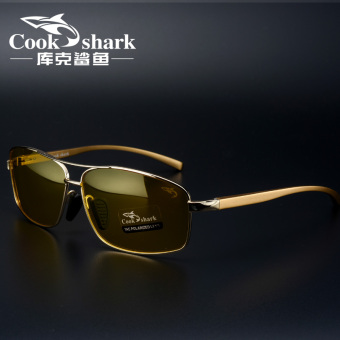 Cookshark driving driver driving night vision glasses sun glasses