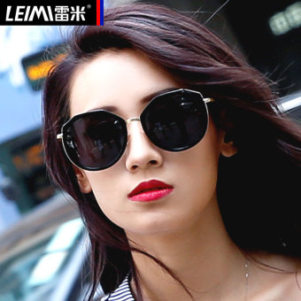 Cool female eye driving SUN glasses polarized SUN mirror