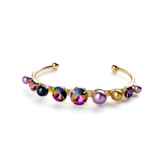 Cool Pearl satellite stone women's bracelet