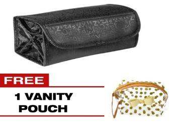 Cosmetic Bag (Black) with FREE 1 Vanity Bag