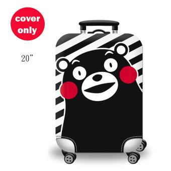 (Cover only) Elite Luggage Cover / Suitcase Cover ( Panda )-small