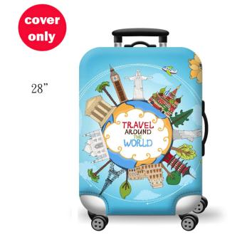 (Cover only) Elite Luggage Cover / Suitcase Cover ( Travel )- large
