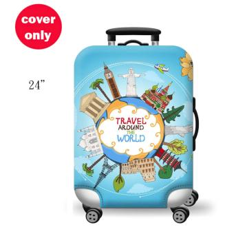 (Cover only) Elite Luggage Cover / Suitcase Cover (Travel)-medium