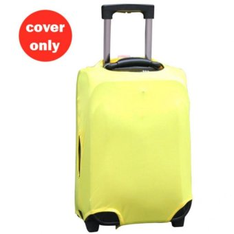 (Cover only) Elite Luggage Cover / Suitcase Cover - Yellow XL