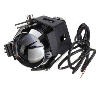 Cree U5 LED Motorcycle Head Light Driving Spot Fog Lamp 125W 3000LM - 3