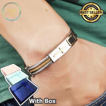 Cross Premium Stainless Steel Bracelet For Men