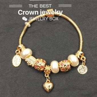 Crown Pandora Charm Bracelet (Multicolor)