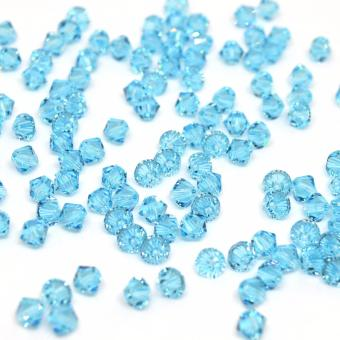 Crystal Beads Bicone Loose Beads 1000pieces - Blue Price Philippines