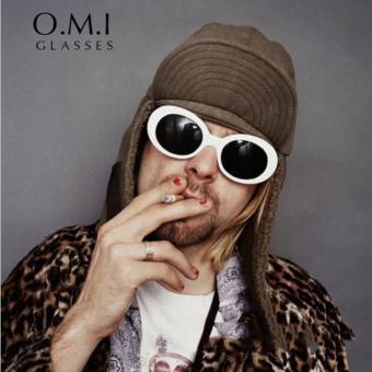 CRYSTAL STORY Nirvana Kurt Cobain Oval Star Style Fashion Sunglasses 2017 Retro Vintage Classic Wiz Khalifa Neff Sunglasses STY00008 - intl - 4