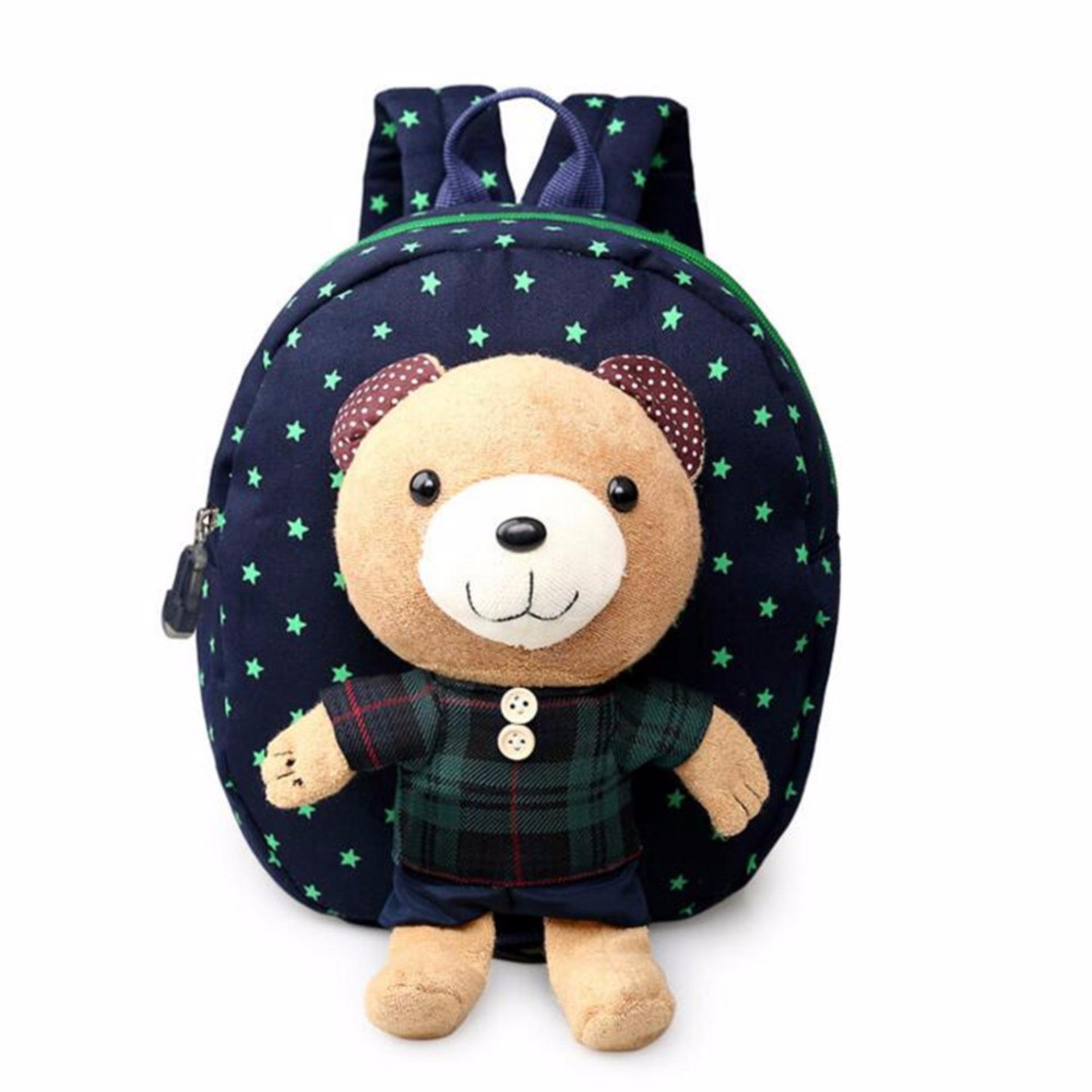 Cute Toddler backpack Anti-lost kids baby bag animal prints children backpacks kindergarten school bag aged 1-3