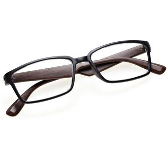 Cyber Plastic Frame Unisex Men Women Reading Glasses Readers +2.50 ( Black )