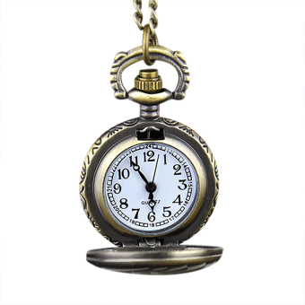 Cyber Poker Pattern Necklace Pendant Pocket Watch - picture 2