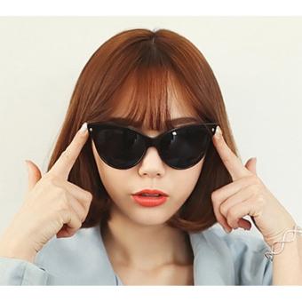 Cyber Women Fashion Classic Shades Frame Sunglasses ( Black ) - picture 2