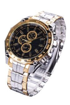 Cyber Women's Steel Luxury Analog Quartz Wrist Watch (Black)