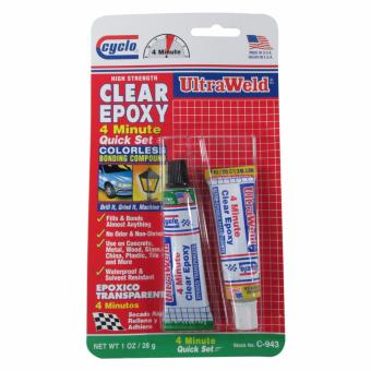 Cyclo Clear Epoxy 4 Minutes 28g 2 Pcs/Card