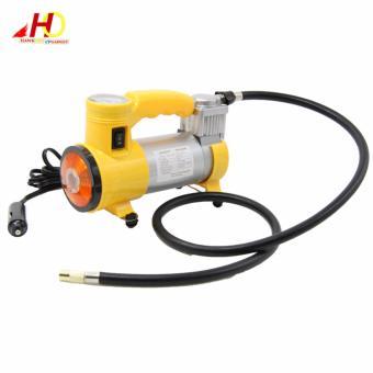 CYCLONE Heavy Duty Air Compressor w/ Working Light (Yellow) - 4