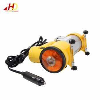 CYCLONE Heavy Duty Air Compressor w/ Working Light (Yellow) - 3