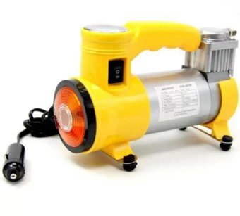 CYCLONE Heavy Duty Air Compressor With Working Light (Yellow)