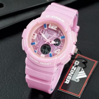 D-ZINER Lady Gaga Sporty Watch for Ladies (PINK) Price Philippines