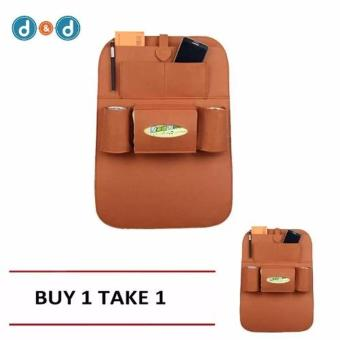 D&D Automobile Seat Back Suspension Vehicle Bag Bag In The CarAuto Supplies Storage Bag buy One take One