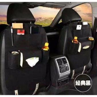 D&D Automobile Seat Back Suspension Vehicle Bag Bag In The CarAuto Supplies Storage Bag (buy One take One)