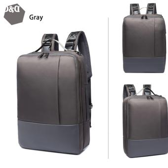 D&D EX8126 Notebook Laptop Nylon Waterprof Backpack Business&Leisure Double Shoulders Bag
