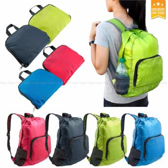 D&D Foldable Lightweight Waterproof Travel Backpack Hiking Bag Outdoor Camping Sports Hiking Folding Pack - 3