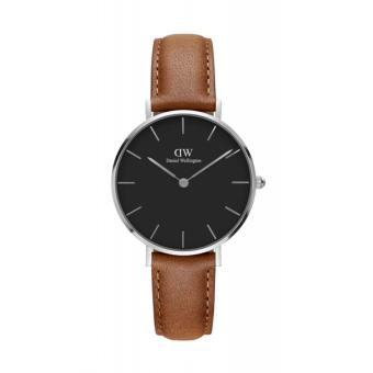 DANIEL WELLINGTON CLASSIC PETITE | 32MM DURHAM BROWN SILVER
