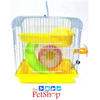 DaYang Hamster Cage L 23 x W 17 x H 24.5 x cm Yellow #157