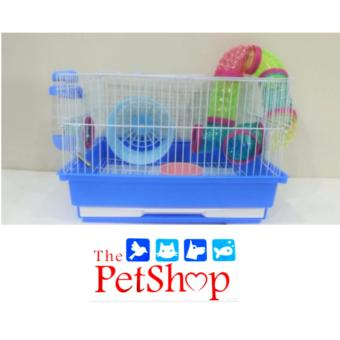 DaYang Hamster Cage W/Tubes L 35 x W 28 x H 23 x cm Blue #415B