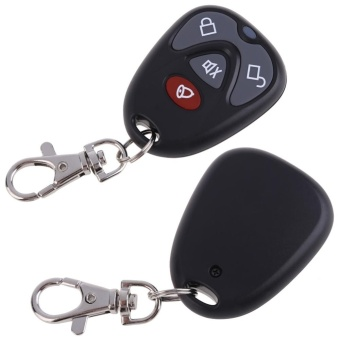 DC12V Replacement Remote Control 4 Button Car Alarm Security 315MHz - intl