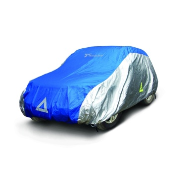 Deflector DCCB-SUV4-BS Car Cover for SUV (Blue/Silver)