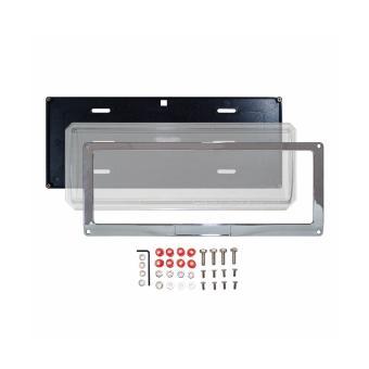 Deflector Vehicle License Plate Cover Protector Convex Center forIsuzu DPC-801-C-IS - 3