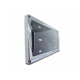 Deflector Vehicle License Plate Cover Protector Convex Center forIsuzu DPC-801-C-IS - 2