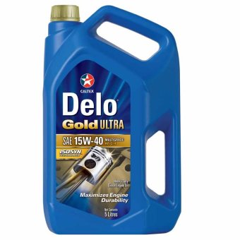 Delo® Gold Ultra SAE 15W-40 5 Liters High Speed Diesel Engine Oil